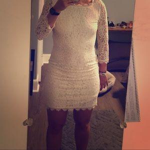 Diane von Furstenburg Zarita Dress (ivory)